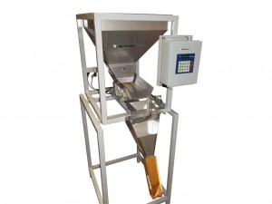 coffee weigh and fill machine