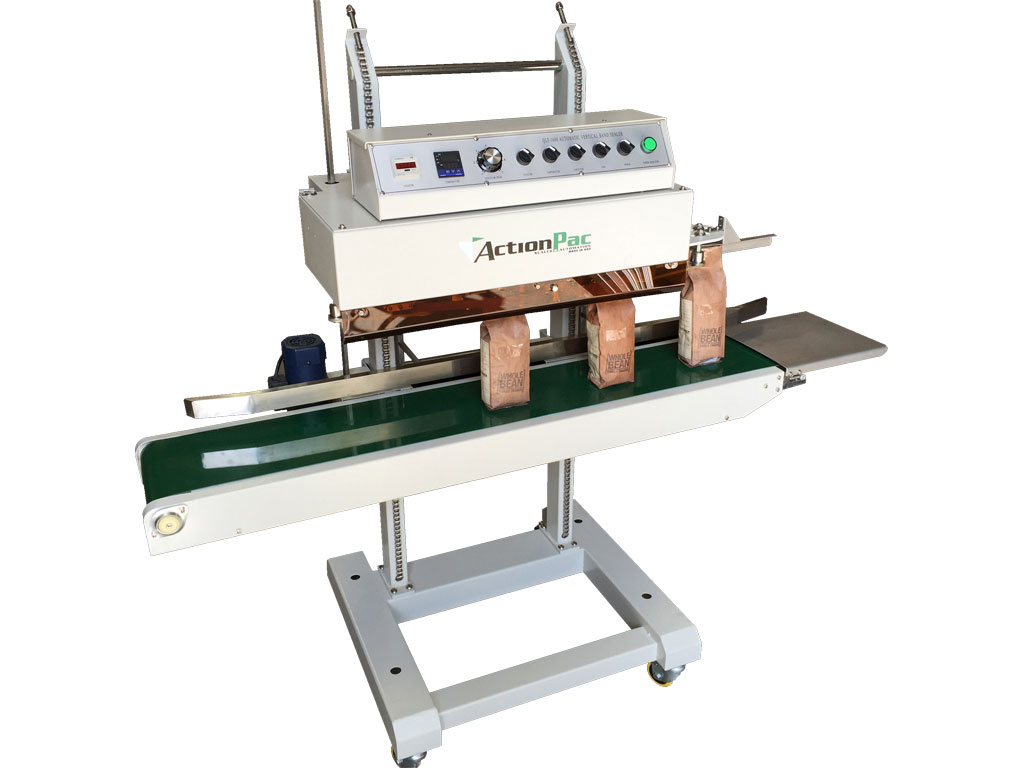 coffee bags sealer, coffee bags heat sealer, bar sealer, horizontal coffee bag sealer, coffee conveyor sealer, best coffee heat sealer