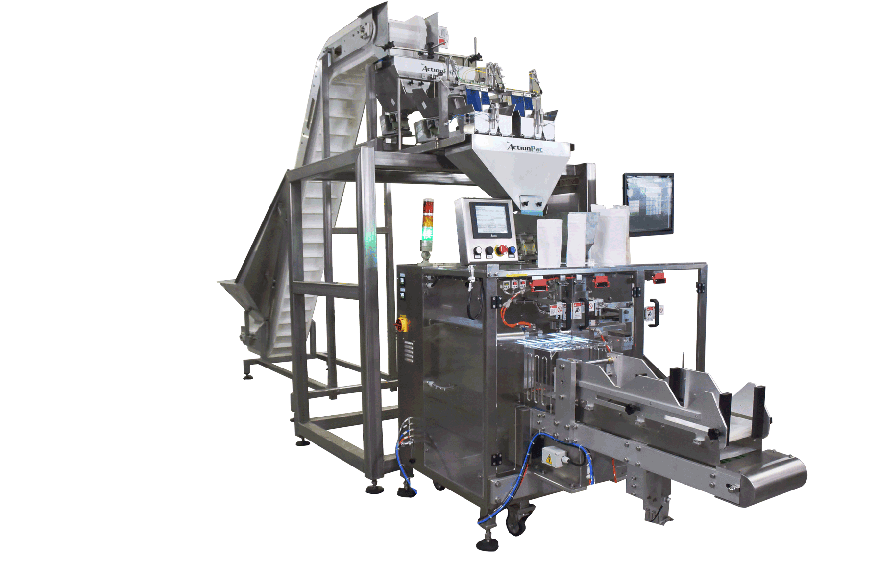 packaging machinery for cereal, granola, grain and powders. weighing, filling and bagging equipment.